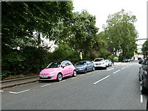 TQ2878 : Parked cars in Chester Square by Basher Eyre