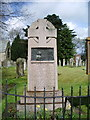 NY3561 : The Parish Church of St Mary the Virgin, Rockcliffe and Cargo, War Memorial by Alexander P Kapp
