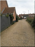 TM3877 : Path from the B1123 entering Holmere Drive by Basher Eyre