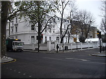 TQ2678 : House at Corner of Bolton Place and Old Brompton Road by PAUL FARMER