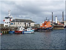 HY4411 : Lifeboat station, Kirkwall Harbour by David Martin