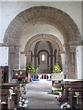 SO4430 : Interior of Kilpeck church by Philip Halling