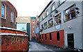 J3374 : Entry, Rosemary Street, Belfast by Albert Bridge