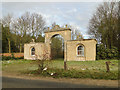 TM3599 : Gateway to Langley Hall and park by Adrian S Pye