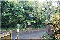 TQ5359 : North Downs Way meets Pilgrims Way by N Chadwick