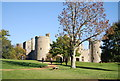 TQ7825 : Bodiam Castle from south west by N Chadwick