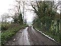TQ1913 : Footpath alongside Upper Wyckham Farm by Dave Spicer