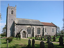 TG3609 : Lingwood St Peter's church by Adrian S Pye