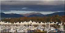 NS2072 : Autumn at Kip marina by Thomas Nugent