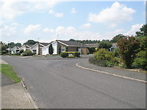 TM2850 : Road junction within River View by Basher Eyre