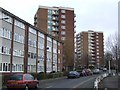 SO9098 : Council Housing - Vauxhall Estate by John M