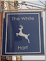 TR1634 : The White Hart sign by Oast House Archive