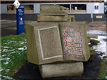 NZ4057 : 'Pathways of Knowledge' by Colin Wilbourn, University of Sunderland by Andrew Curtis