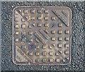 J5082 : Manhole cover, Bangor by Rossographer