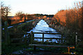 SK4742 : The frozen Nottingham Canal near Cossall by David Lally