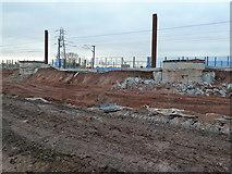 SP0483 : Site of new railway bridge by Chris Allen