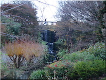 TQ2779 : Waterfall near the Serpentine in Hyde Park by Robert Lamb