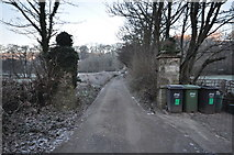 SS4937 : Castle Lane which leads to Challowell Lane by Roger A Smith