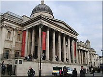 TQ2980 : National Gallery by Paul Gillett