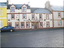 NX4355 : The Wigtown Ploughman Hotel by John Ferguson