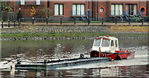 J3473 : Dredging the River Lagan, Belfast  -  2010/11 (87) by Albert Bridge