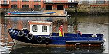 J3473 : Dredging the River Lagan, Belfast  -  2010/11 (88) by Albert Bridge
