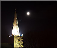 J5081 : Spire, Bangor Abbey by Rossographer