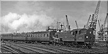 NZ5020 : Darlington to Saltburn local train at Guisborough Junction, Middlesbrough by Ben Brooksbank