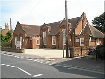 TM2850 : Former school in The Street by Basher Eyre