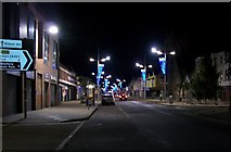J3731 : Main Street Newcastle at 07.30 hours on a December morning by Eric Jones