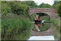 SO9161 : Approaching Hammond's Bridge near Hadzor, Worcestershire by Roger  Kidd