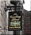 SJ8562 : Sign for The Counting House by Jonathan Kington
