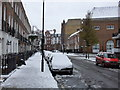 TQ2781 : Snowy Shouldham Street, London by PAUL FARMER