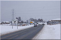 NJ8813 : Approach to Dyce on the A947 by Bill Harrison