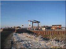 SE6912 : Wykewell bascule bridge by Jonathan Thacker