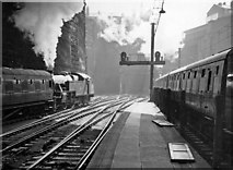 SJ3590 : The exit from Liverpool Lime Street, in tunnels and cuttings up to Edge Hill by Ben Brooksbank