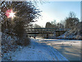 SD7707 : Manchester, Bolton & Bury Canal, School Street Bridge by David Dixon