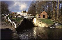 SE1039 : Bingley five rise locks by Chris Allen