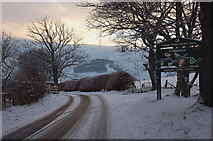NT2538 : Road below Cademuir by Jim Barton