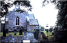 NU0625 : St Peter's church in Chillingham in 1990 by Evelyn Simak