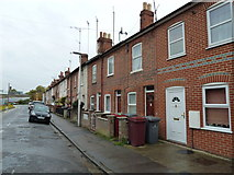SU7172 : Terraced houses in Wolseley Street by Basher Eyre