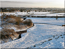 SD7909 : Elton Reservoir Drains by David Dixon