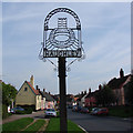 TM0262 : The High Street, Haughley, Suffolk by Adrian S Pye