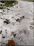 SX9066 : Hail near Barton tip by Derek Harper