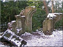 TQ3472 : Sydenham Woods - a folly by Brian Whittle
