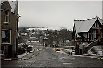 NT2540 : Tweed Bridge at Christmas, Peebles by Jim Barton
