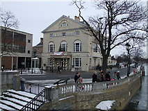 TL0549 : The Swan Hotel, The Embankment, Bedford by PAUL FARMER