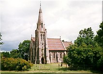 TQ9258 : St. Catherine's Church, Kingsdown by Roger Smith
