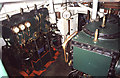 TQ3780 : Steam tug Portwey - engine room by Chris Allen