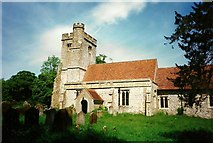 TR0149 : St. Cosmas & St. Damian Church, Challock by Roger Smith